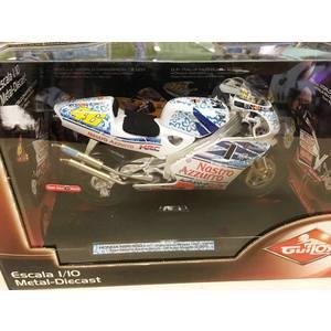 HONDA NSR 500cc FLOREALE LIMITED EDITION GP MUGELLO  VALENTINO ROSSI SCALA 1/10