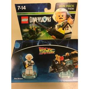 LEGO DIMENSIONS BACK TO THE FUTURE
