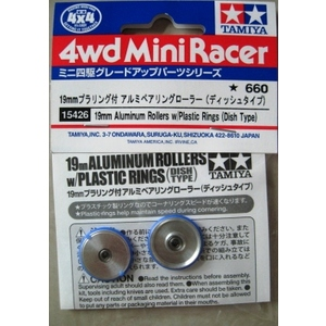 ROTELLE ALLLU 19mm  TEFLON RING