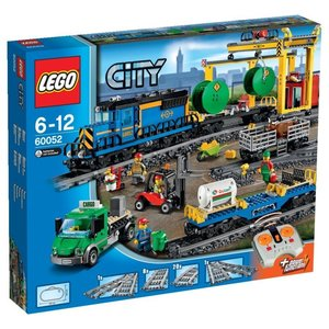 LEGO CITY TRAIN TRENO GRANDE FERROVIA MERCI