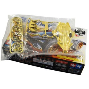 Mini4wd manta ray metallizata oro