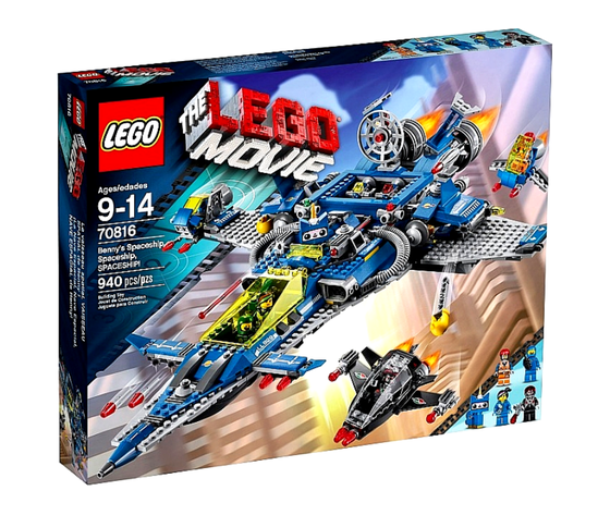 Lego l'astronave del film The Lego Movie scatola collezione