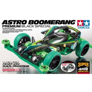Astro boomerang mini4wd modello da gara