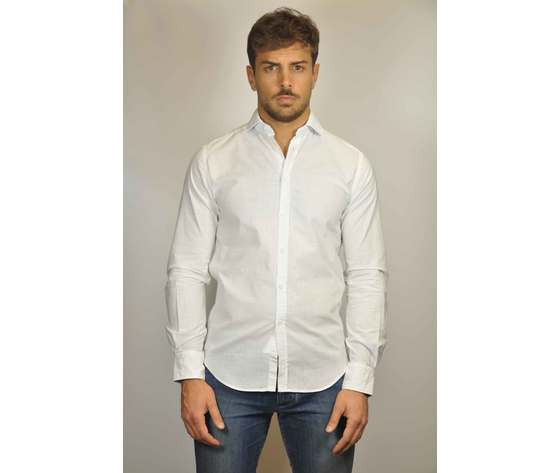 Camicia Puro Lino J-SHIRT mod. US 432 Slim