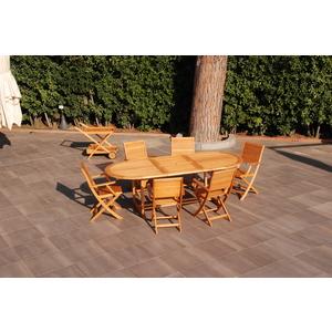 Tavolo da Pranzo Allungabile Ovale California