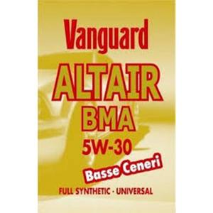 LUBRIFICANTE SINTETICO VANGUARD ALTAIR BMA 5W-30 Basse Ceneri 1L