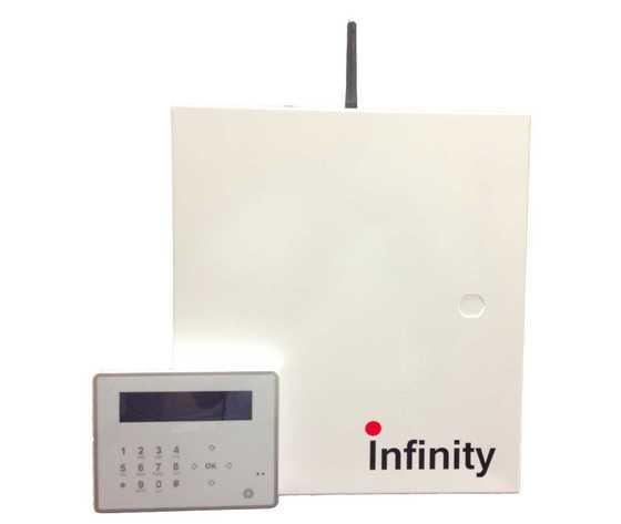 Centrale 8/32 Infinity antifurto antintrusione