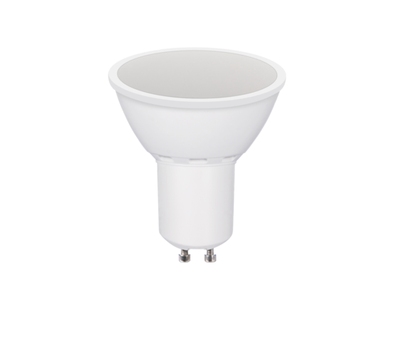 Lampada 7w led 120° GU10 luce calda AC100-240v