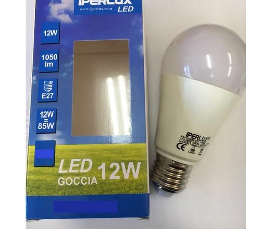 Lampada Goccia Led 12w 6000K E27