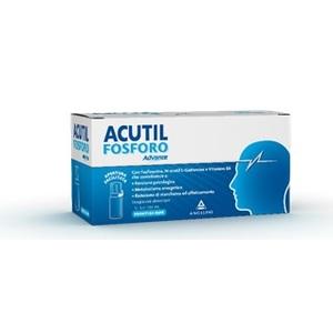 Acutil Fosforo Linea Advance Integratore Alimentare 10 Flaconcini Angelini