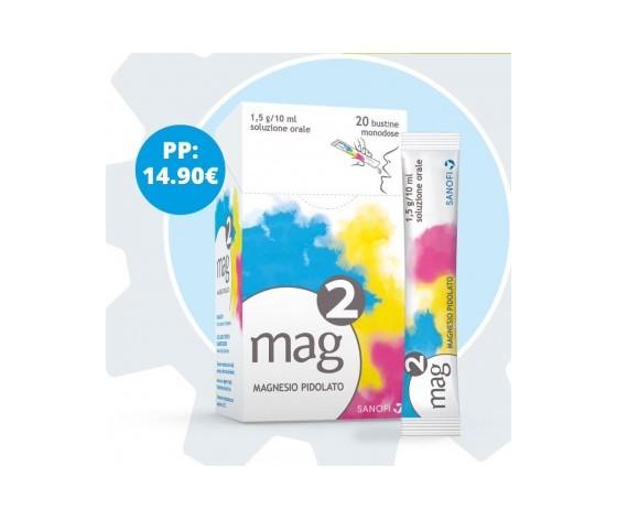 Sanofi Spa Mag 2 Os Soluz 20Bust1,5G/10Ml