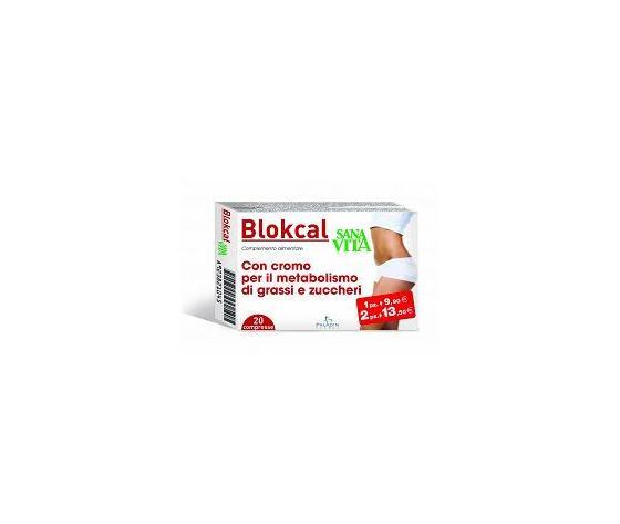 Paladin Pharma Srl - Sanavita Blokcal 20cpr