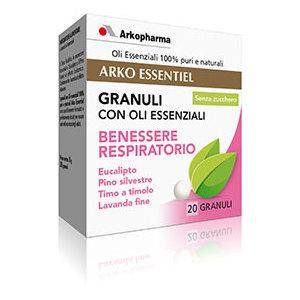 Arkoessentiel Benessere Respiratorio - Granuli con Oli Essenziali Arkopharma