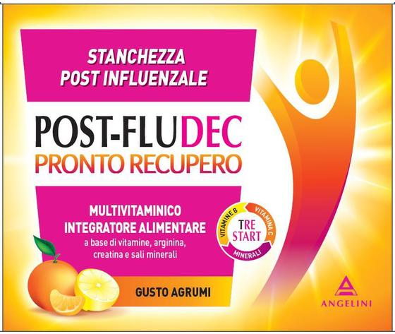 Angelini Postfludec Pronto Recupero 12 Buste