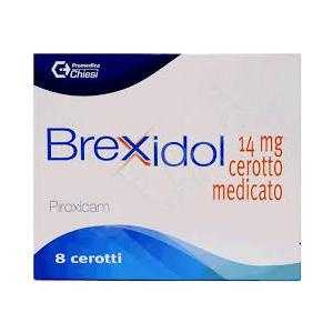 Brexidol 14 mg Piroxicam Dolori Articolari 8 Cerotti Medicati