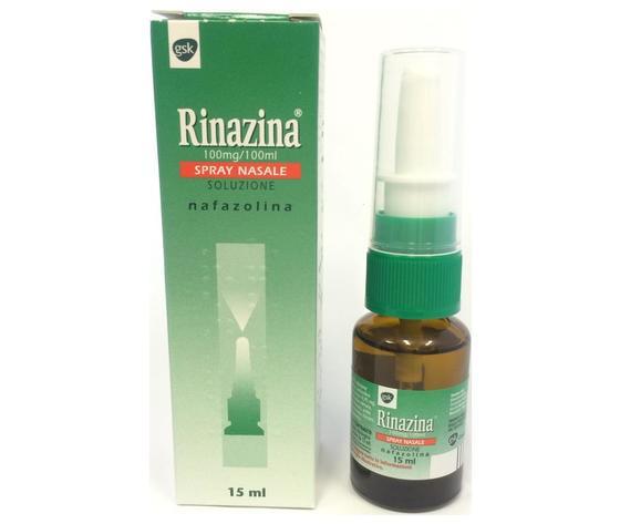 Glaxosmithkline c.health.spa RINAZINA SPRAY NASALE 15 ML