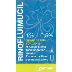 Zambon italia srl Rinofluimucil spray nasale 10ml