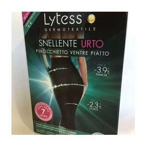Lytess Pinocchietto Snellente Urto Nero Taglia L/XL Punto Pharma srl
