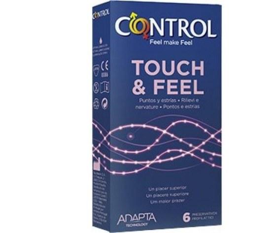 Artsana spa CONTROL TOUCH & FEEL 6PZ