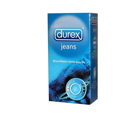 RECKITT BENCKISER SPA Durex jeans easy on 12 pezzi