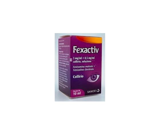 SANOFI SPA Fexactiv Collirio 1 Flacone da 10ml