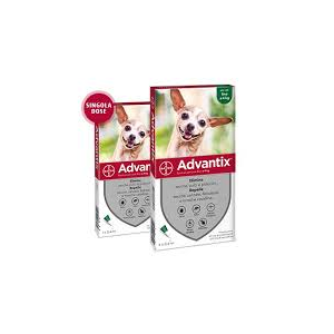 Advantix Spot-On 4 Pipette Per Cani Fino A 4 Kg Bayer