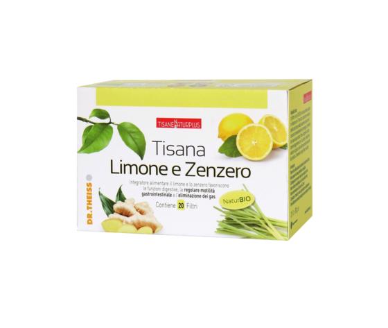 Naturplus Tisana Limone e Zenzero