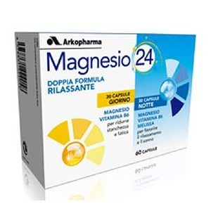 Magnesio24 60 CPS Arkopharma