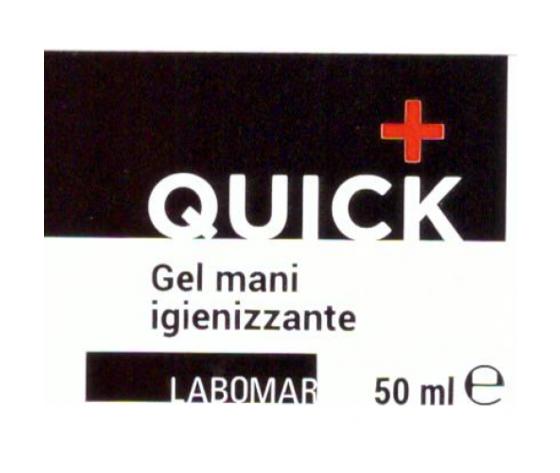 LABOMAR SpA Quick Piu' Gel Igienizzante Mani 50ml