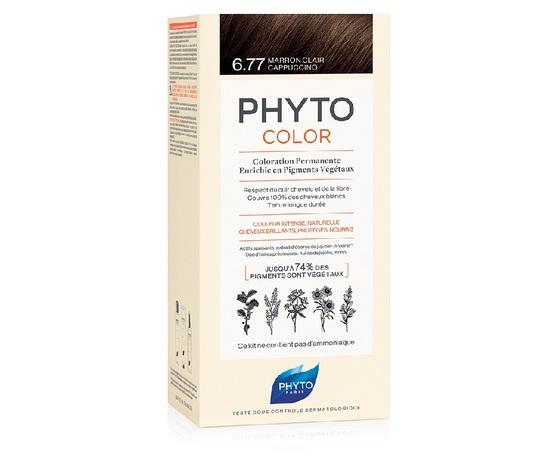 PHYTO (ALES GROUPE ITALIA SpA) PHYTOCOLOR 6.77 Marrone chiaro cappuccino