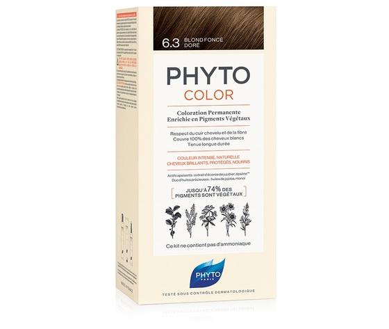 Phyto Phytocolor - Tintura Permanente Colore 6.3 Biondo Scuro Dorato