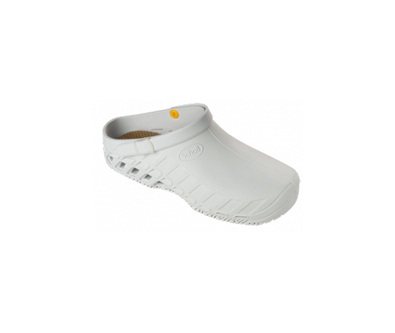 """""Dr.scholl's Div.footwear Clog Evo Tpr Unisex White 36-37"""""