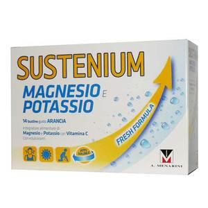Sustenium Magnesio e Potassio 14 buste