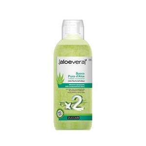 AloeVera2 Succo Puro D'Aloe Con Polpa Naturale 1000 Ml Zuccari