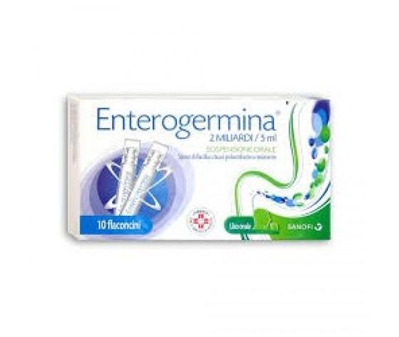 Enterogermina 2 Miliardi/5Ml 10 Flaconcini Sanofi