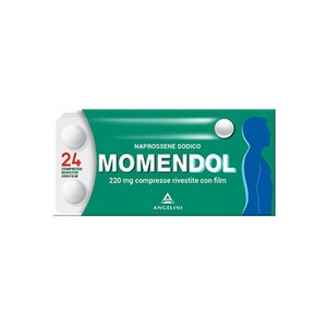 Momendol 220 mg - analgesico antinfiammatorio 24 compresse rivestite Angelini
