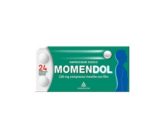 Momendol 220 mg - analgesico antinfiammatorio 24 compresse rivestite Angelini