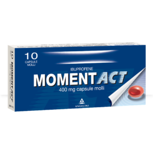 Moment Act 400 mg 10 capsule molli Angelini