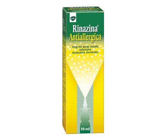 Rinazina Aantiallergica Spray Nasale 10ML GlaxoSmithKline C.H.SpA