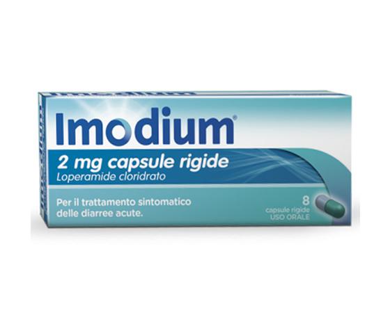 Imodium*8CPS 2MG JOHNSON & JOHNSON SpA