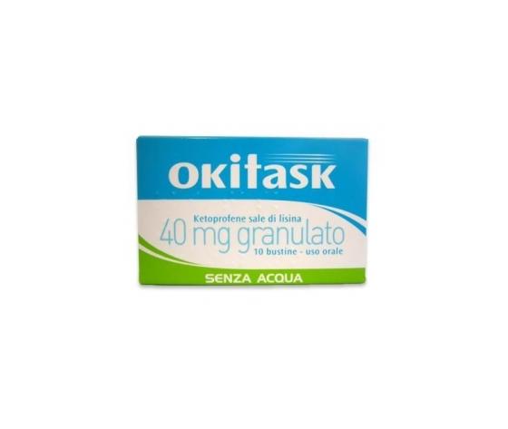 Okitask 40 Mg Granulato 10 Bustine Dompe' Farmaceutici Spa