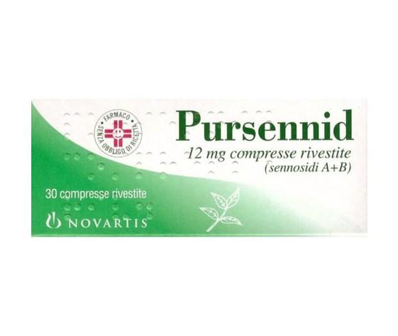 Pursennid*30CPR RIV 12MG Glaxosmithkline spa