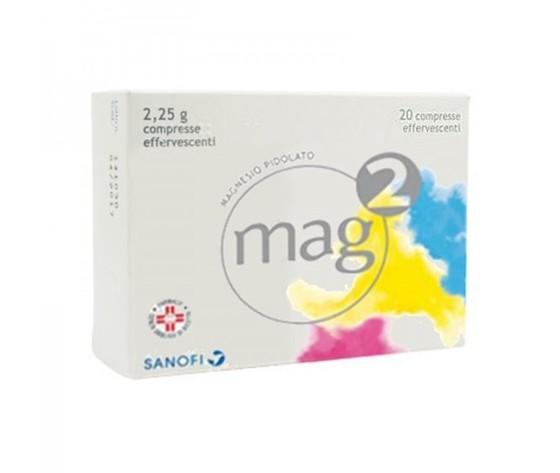 MAG 2 - 20 Compresse Effervescenti Da 2,25G