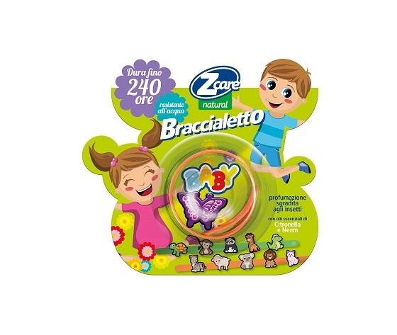 ZCare Anti Zanzare Natural Baby Braccialetto  Allontana Zanzare Bouty