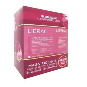Lierac Magnificence Balsamo-gel notte levigante Effetto Detox + IN OMAGGIO Magnificence Yeux Trattamento Occhi