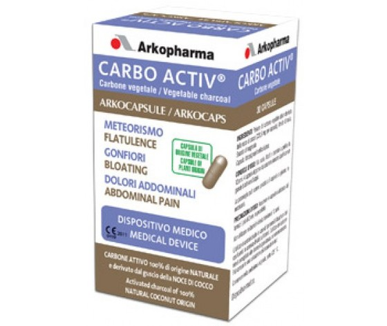 Carbo Activ 30 CPS Arkopharma