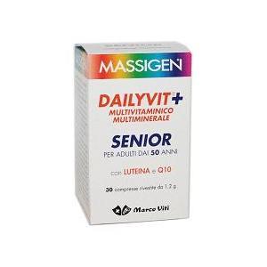 MARCO VITI FARMACEUTICI SpA Massigen dailyvit + senior 30 compresse