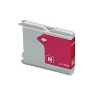 CARTUCCIA COMPATIBILE con BROTHER LC-970/1000 Magenta