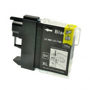 CARTUCCIA COMPATIBILE con BROTHER LC-980 LC-1100 BK
