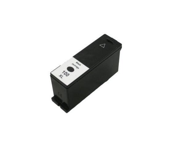Cartuccia Comp. con Lexmark N. 100XL BK Doppia Capacità